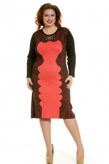 Платье 412 Luxury Plus (Коралл)