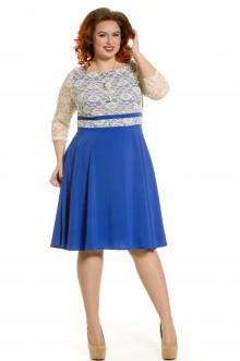 Платье 472 Luxury Plus (Мечта синий)
