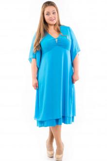 Платье 535 Luxury Plus (Голубой)