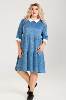 Платье 778 Luxury Plus (Голубой)