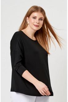 """Блуза """"Лина"""" 41101 (Черный)"""