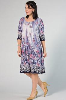 """Платье """"СКС"""" 2903/1 (Сиреневый/розовый)"""