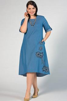 """Платье """"СКС"""" 2906 (Голубой)"""