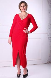 Платье 088603 ЛаТэ (Красный)