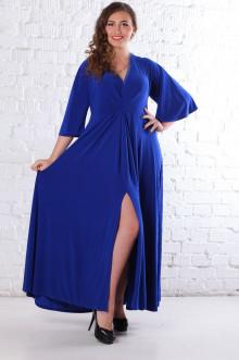 Платье 078402 ЛаТэ (Васильковый)