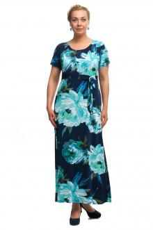 "Платье ""Олси"" 1705052/2 ОЛСИ (Голубой)"