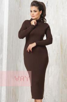 Платье женское 2237 Фемина (Шоколад)