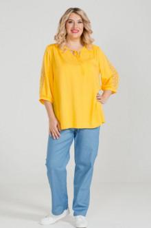 Блуза 909 Luxury Plus (Желтый)